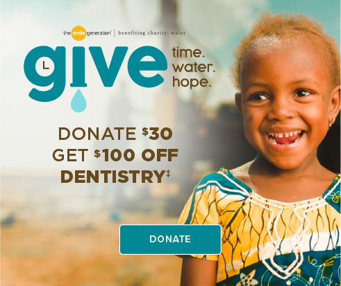 Donate $30, Get $100 Off Dentistry - Killeen Modern Dentistry